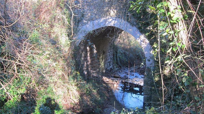 Ponte Voragine presso Cantiano-Pontericcioli