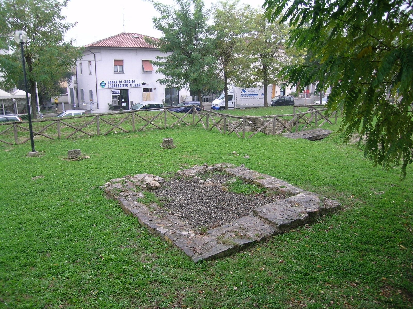Area di sosta di Tavernelle a Serrungarina
