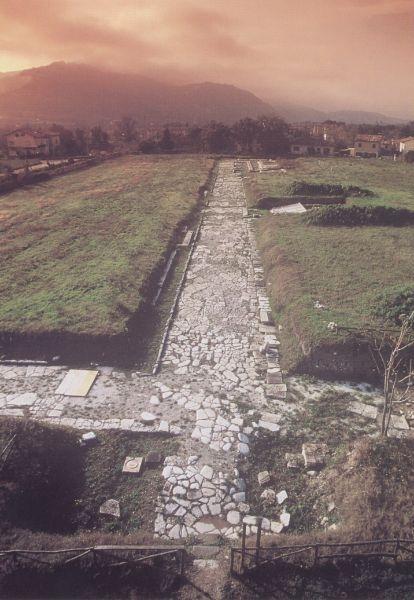 Forum Sempronii - DECUMANO MINORE