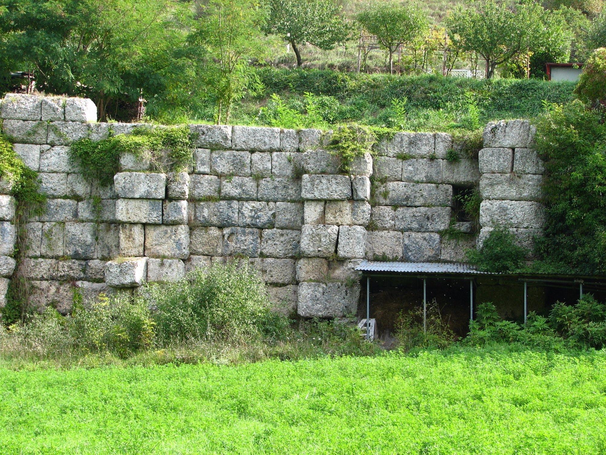 Sostruzione presso Pontericcioli di  Cantiano