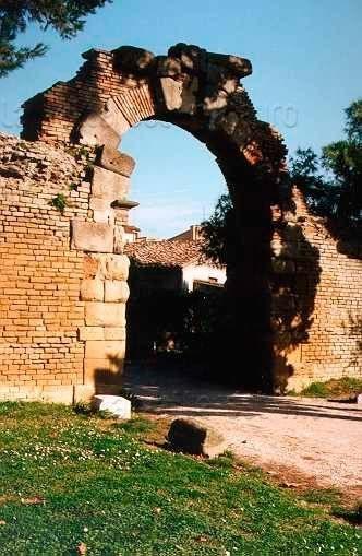 La Porta della Mandria o Porta Ovest a Fano
